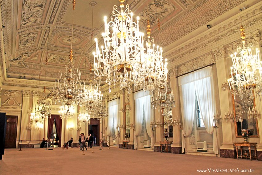 Sala Bianca, Palazzo Pitti