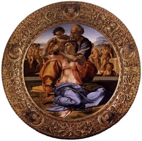 Tondo Doni de Michelangelo