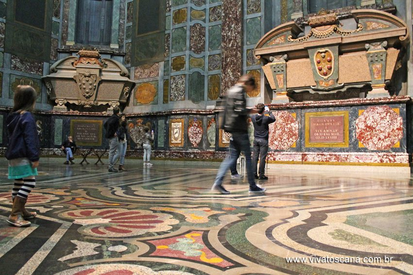 Cappella dei Principi, Mausoléu Família Medici