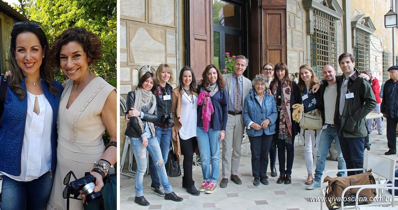 Com Consuelo Blocker e os bloggers de Blogs & Crafts e organizadores de Artigianato e Palazzo.