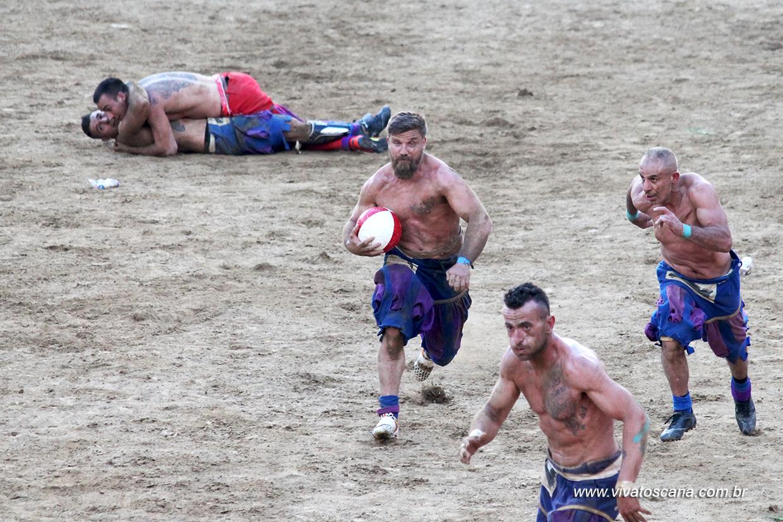 Calcio Storico Fiorentino - em Junho