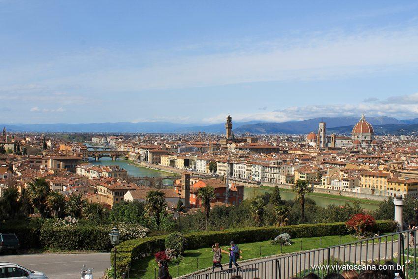 Florença vista do Piazzale Michelangelo