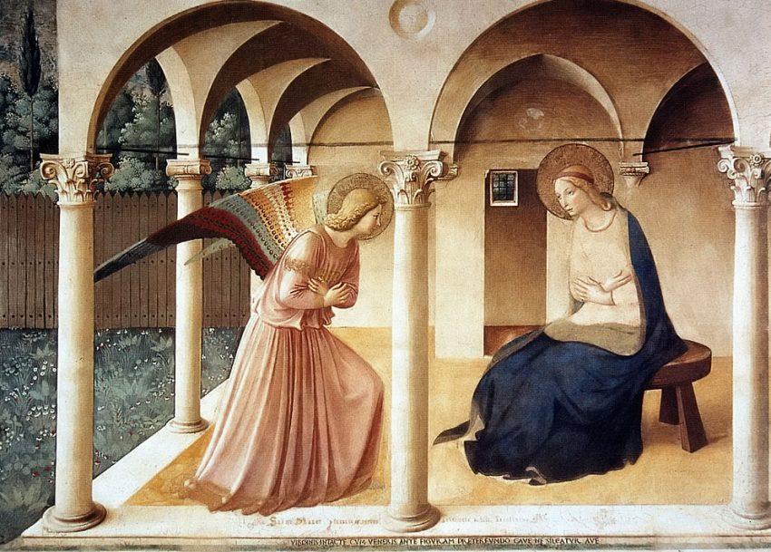 Anunciação de Beato Angelico